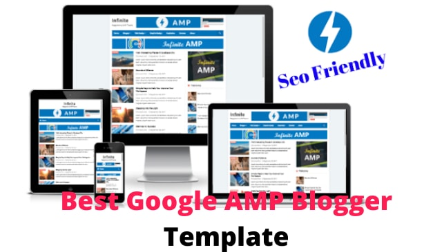 Best Google AMP Blogger Template 2020 , Seo Friendly