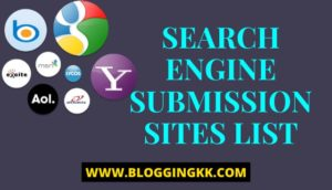 Best Free Search Engine Submission Sites List On Boost #1Ranking In Seach Engines