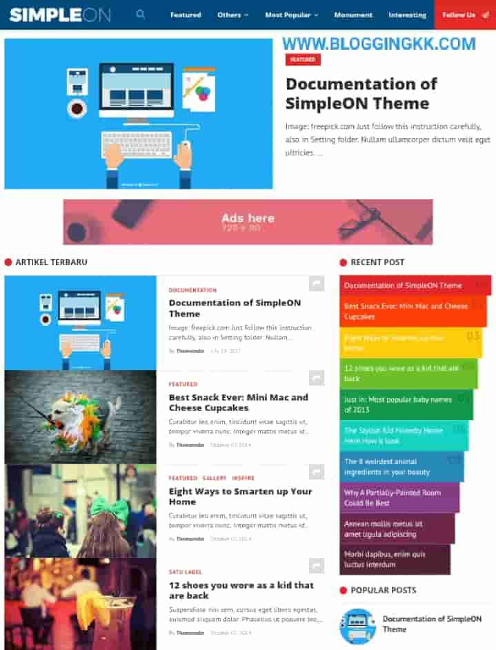 SimpleOn-SEO-Friendly-Blogger-Template