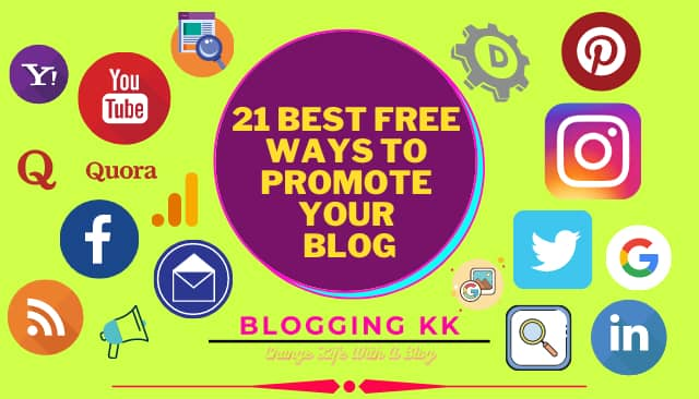 21 Best Free Ways to Promote Your Blog