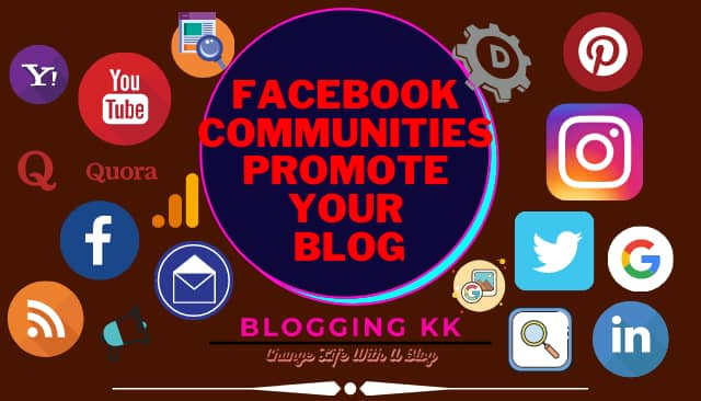 Facebook Communities Promote Your Blog