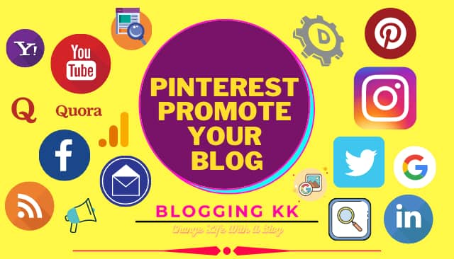 Pinterest Promote Your Blog