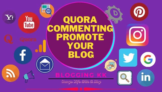 Quora Commenting Promote Your Blog