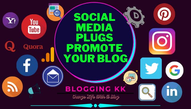 Social Media Plugs Promote Your Blog