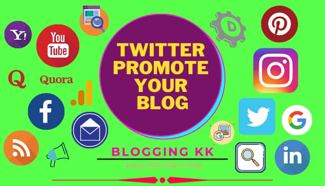 Twitter Promote Your Blog