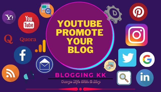 YouTube Promote Your Blog
